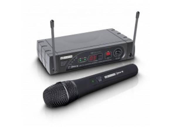 Sistema sem fios com microfone de mão LD Systems LDWSECO16HHDB5