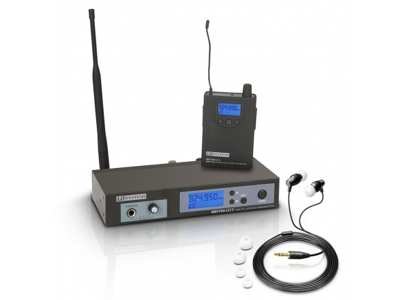 Monitorização in-ear Wireless LD Systems MEI 100 G2 B5