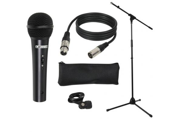Microfone dinâmico LD Systems MIC SET 1