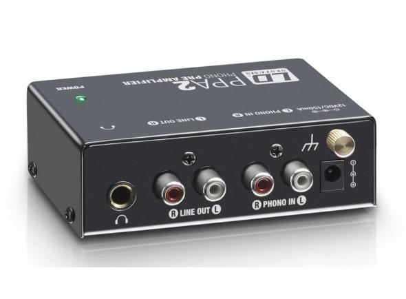 Pré-amplificador LD Systems PPA 2 Pré-Amplificador de Gira Discos