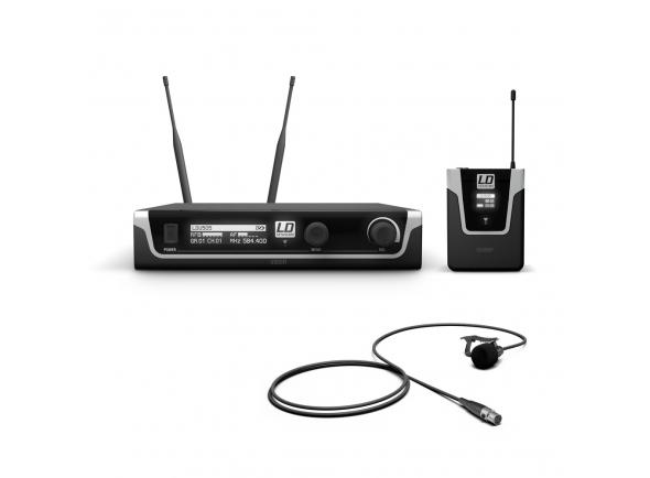 LD Systems U505 BPL   LD Systems U505 BPL  Sistema sem fio UHF com transmissor de bolso e microfone de lapela (cardióide)  Verdadeira diversidade  96 canais em 8 grupos de 12 canais cada  Faixa de freqüência de áudio: 30 - 16.000 Hz  Potência de transmissão comutável: 2 mW, 10 mW, 30 mW  Varredura de freqüência no receptor  Varredura automática de frequência com transmissão infravermelha da configuração do receptor para o transmissor  Tom piloto  Display OLED brilhante  Operação do transmissor com 2 pilhas AA ou baterias recarregáveis  Banda de frequências: 584 - 608 MHz  XLR e saída jack  Operação via adaptador de energia 12 - 18 V DC  Conexões da Antena BNC  Incluído: 2 pilhas AA, antenas, case, pára-brisas de espuma e adaptador de energia