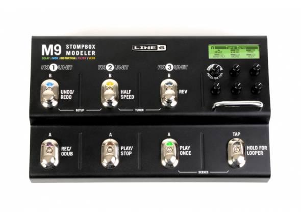 Line6 M9 Stomp Box