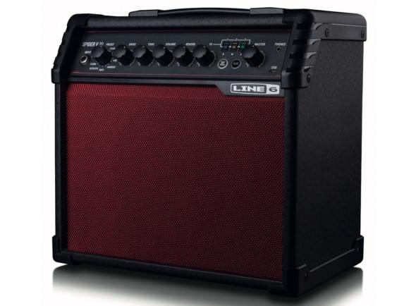 Combos de modulação Line6  Spider V 20 Red Limited Edition