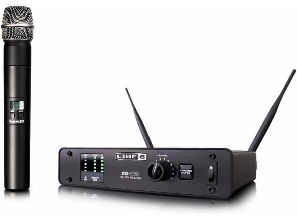 Sistema sem fios com microfone de mão Line6 XD-V55