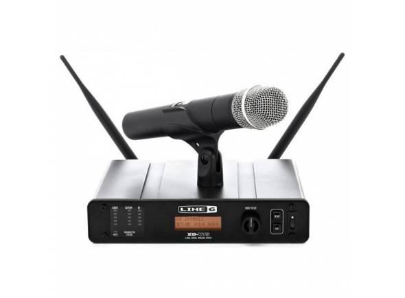 Sistema sem fios com microfone de mão Line6 XD-V75