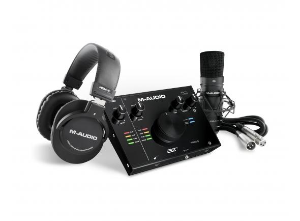 Conjunto para estúdio M-Audio AIR 192|4 Vocal Studio Pro
