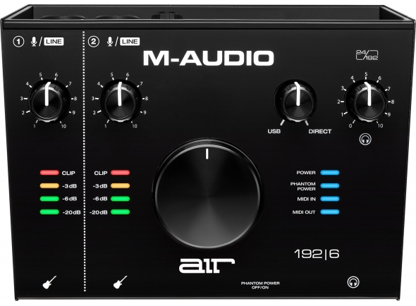 Interface Áudio USB M-Audio AIR 192|6