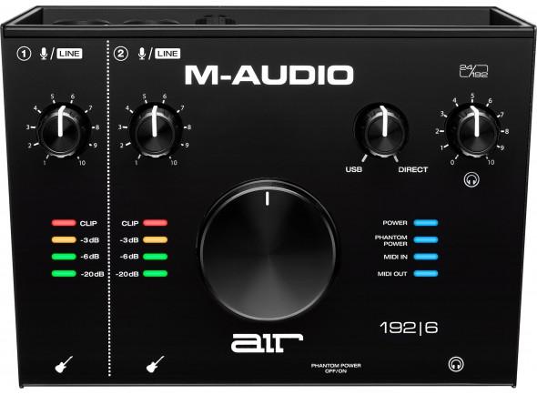 Interface Áudio USB M-Audio AIR 192|6 B-Stock