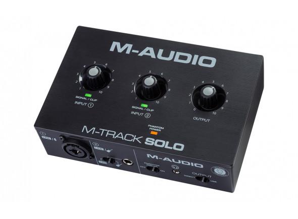 Interface Áudio USB M-Audio  M-Track Solo