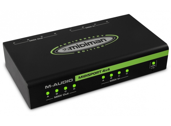 Interfaces MIDI M-Audio MIDISport 4X4 AE USB