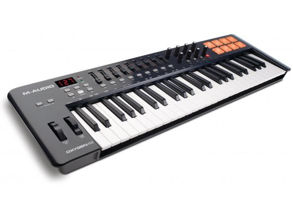 Teclados MIDI Controladores M-Audio Oxygen 49 Mk4 B-Stock
