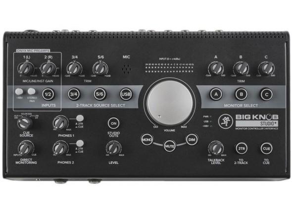 Controladores de estúdio / monitor Mackie Big Knob Studio+ B-Stock