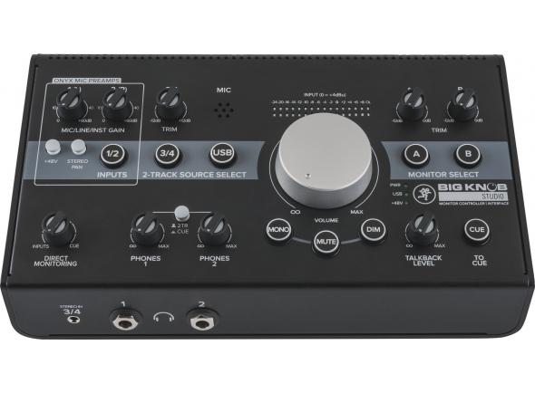 Controladores de estúdio / monitor Mackie Big Knob Studio