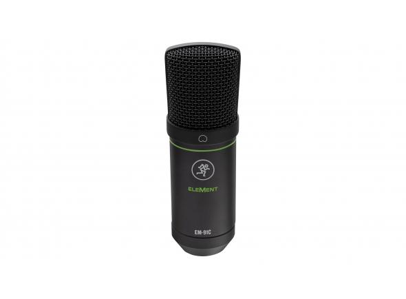 Microfone de membrana grande Mackie EM-91C