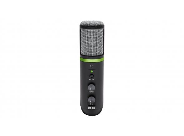 Microfone USB Mackie EM-USB