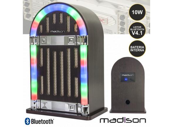 Sistemas Portáteis com Bateria Madison  MAD-JUKEBOX10