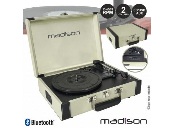 Gira-discos  Madison  MAD-RETROCASE-CR