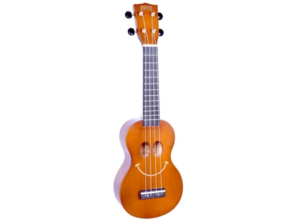 Mahalo Smiley Ukulele Brown