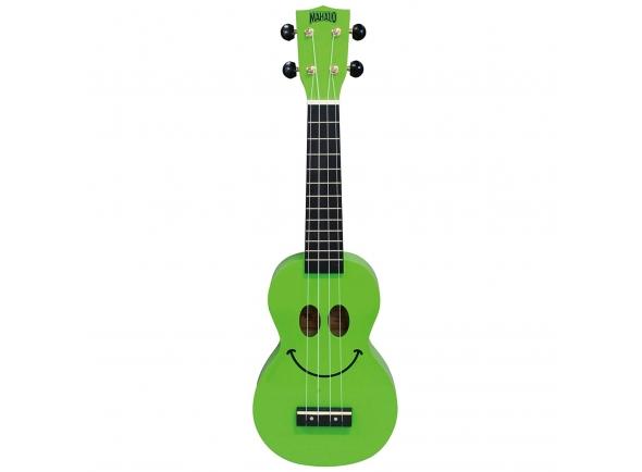 Mahalo Smiley Ukulele Green