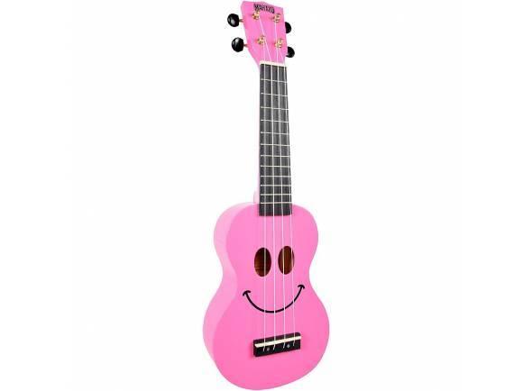 Ukulele Soprano Mahalo Smiley Ukulele Pink
