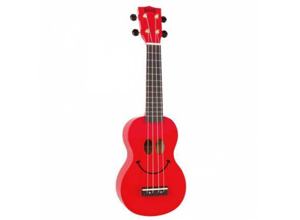 Ukulele Mahalo Smiley Ukulele Red