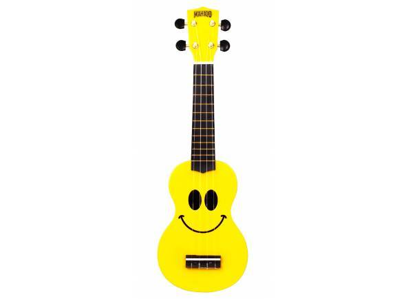 Ukulele Mahalo Smiley Ukulele Yellow