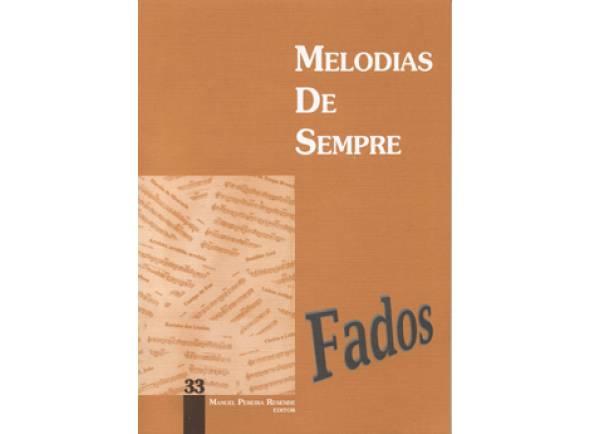 Manuel Pereira Resende Melodias de Sempre Fados Nº33