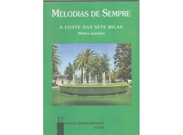 Livro de canções Manuel Pereira Resende Melodias de Sempre nº17