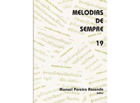 Manuel Pereira Resende Melodias de Sempre Nº19