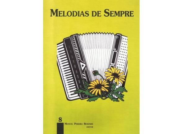 Livro de canções Manuel Pereira Resende Melodias de Sempre nº8