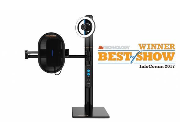 Marantz Turret  Sistema tudo-em-um para Streaming de vídeo ao vivo  Ideal para Podcasting, Gaming & músicos.  Microfone de alto desempenho USB 16-Bit/48 Khz.  Webcam de alta definição com vídeo 1080p.  Integrado de luz de Dimmable LED anel.