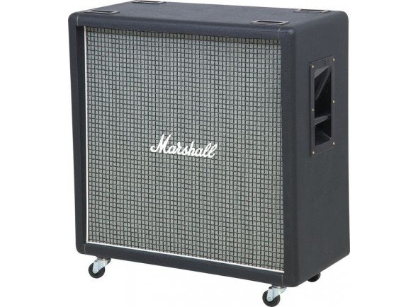 Marshall 1960BX   Alto-Falantes: 4x12''Celestion G12M-25 Greenback;  Potência: 100 Watts;  Impedância: 16 Ohms;