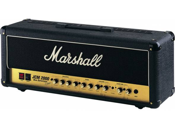 Marshall DSL100    100 watts Dual Super Lead    Circuito total a válvulas (4x ECC83s, 4x EL34s)    Ideal para as colunas Marshall 1960 A & B