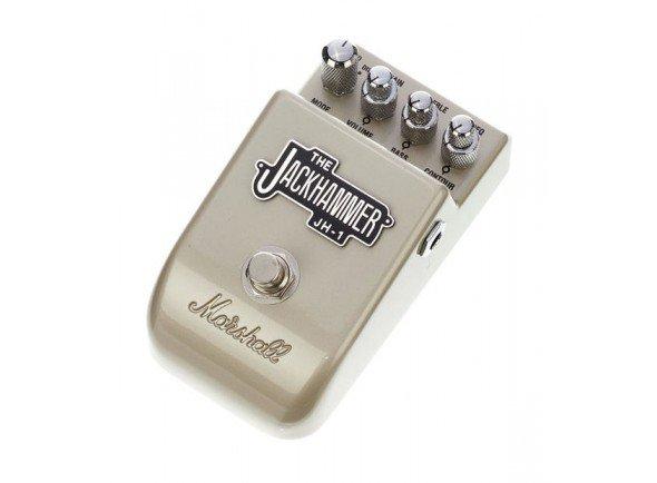 Marshall PEDL 10024 JH-1  Pedal Efeitos Marshall JH-1 Jackhammer. Controladores: Mode; Gain/Volume; Treble/Bass; Freq/Contour.- Pedl-10024