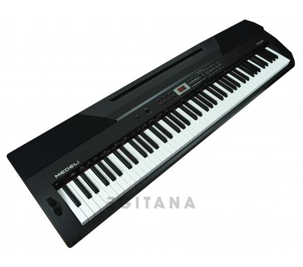 Pianos Digitais Portáteis  Medeli   SP3000/BK (DP-26)
