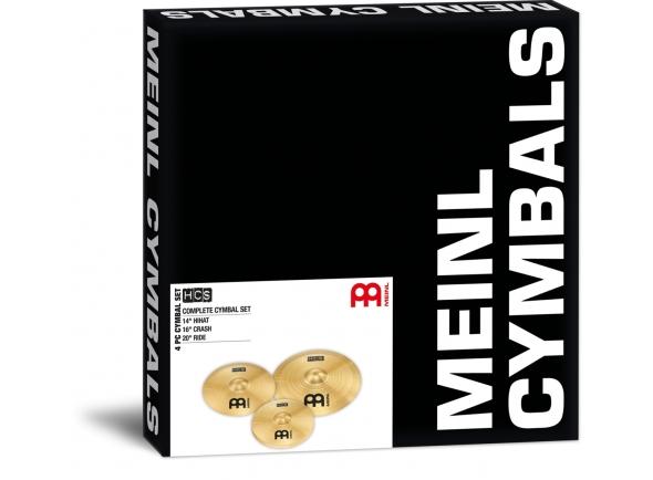 Conjunto de Pratos Meinl HCS Cymbal Set Standard