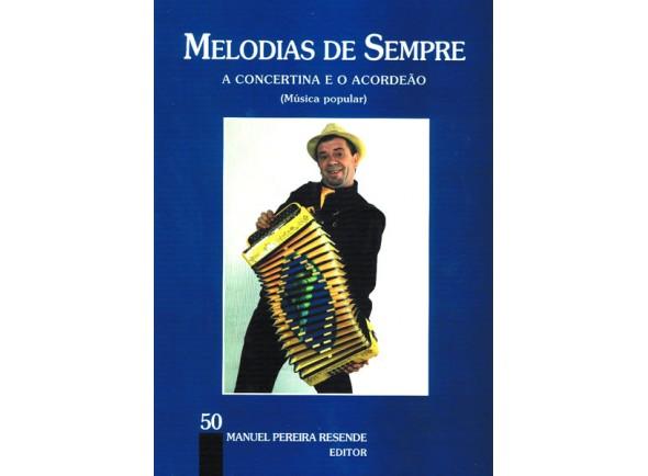 Livros de Acordeão MPR Livro Melodias Sempre nº50
