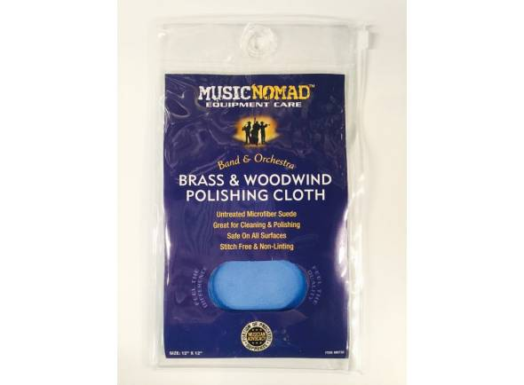 Manutenção e produtos de limpeza Musicnomad Pano Camurça Brass & Woodwind