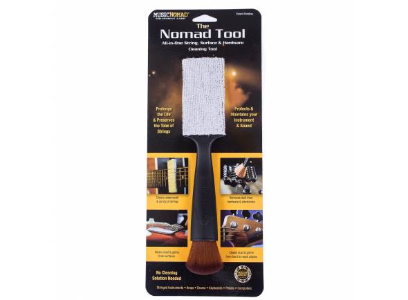 Produtos de limpeza para guitarra Musicnomad The Nomad Tool