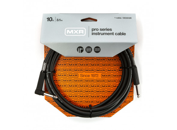 Cabo para Instrumento MXR  10FT PRO SERIES INSTRUMENT CABLE - RIGHT / STRAIGHT
