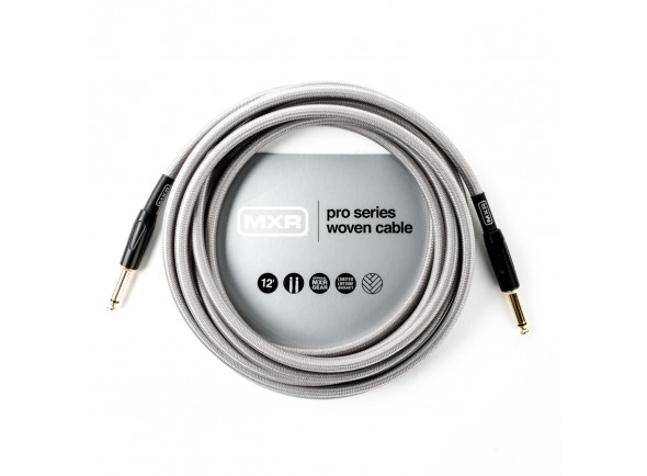 Cabo para Instrumento MXR 12FT PRO SERIES WOVEN INSTRUMENT CABLE - STRAIGHT / STRAIGHT