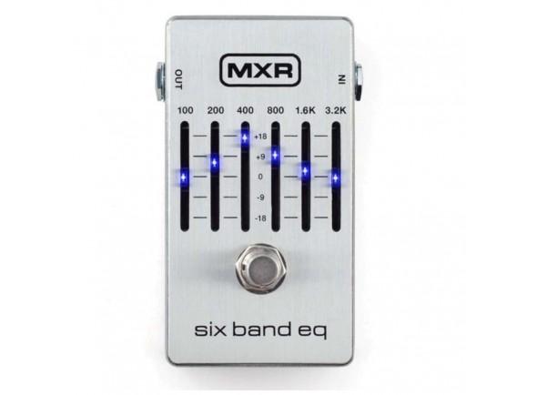 Equalizadores MXR 6 Band Equalizer Silver M109S