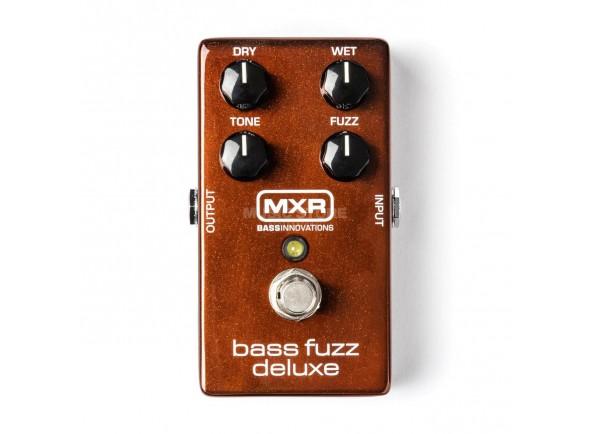 Pedal de distorção MXR M84 Bass Fuzz Deluxe