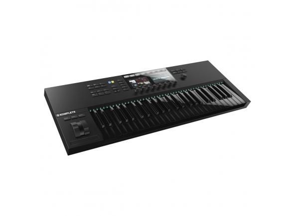 Native Instruments Komplete Kontrol S49 MK2, Black Keys B-Stock