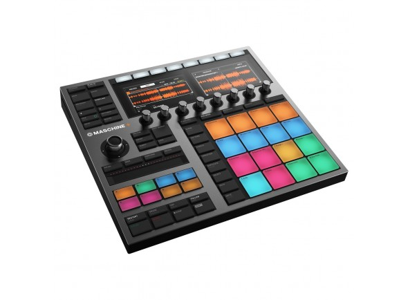 Sequenciadores de ritmos Native Instruments Maschine +