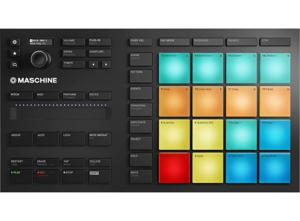Controladores DJ Native Instruments Maschine Mikro MK3