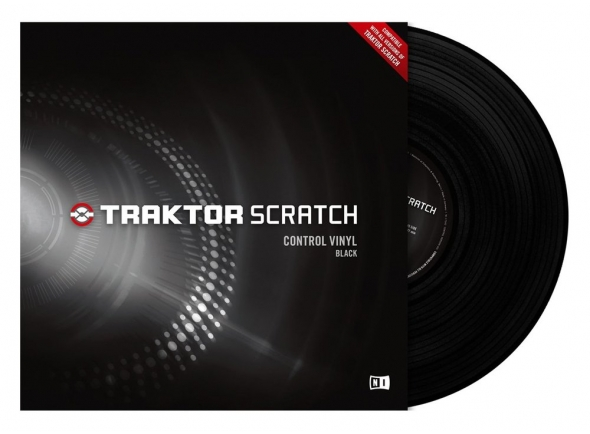 Native Instruments Traktor Control Vinyl Black