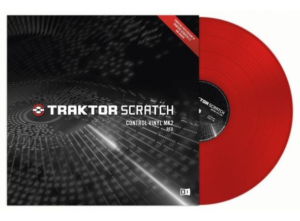 Native Instruments Traktor Control Vinyl Red