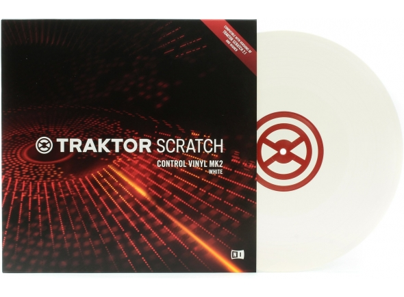Native Instruments Traktor Control Vinyl White