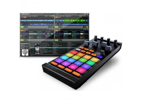 Controladores DJ Native Instruments Traktor Kontrol F1